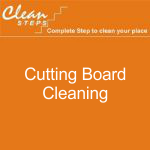 CLEAN STEPS Food Guard – Cutting Board Cleaning