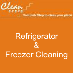 CLEAN STEPS Food Guard – Refrigerator & Freezer Cleaning