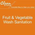 CLEAN STEPS Food Guard – Fruit & Vegetable Wash Sanitation