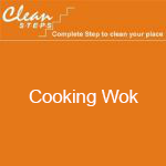 CLEAN STEPS Food Guard – Cooking Wok