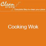 CLEAN STEPS Food Guard – Cooking Wok