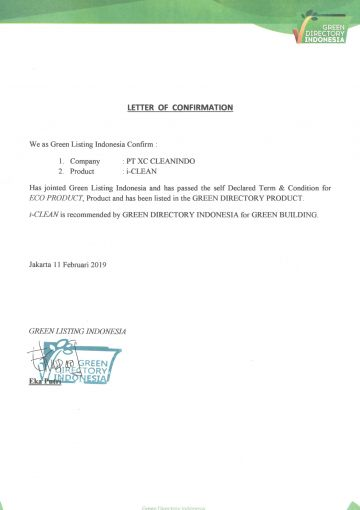 Letter Of Confirmation (120219)