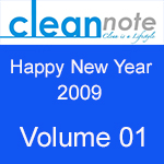 Clean Note Vol 01 – Jan-Feb 2009