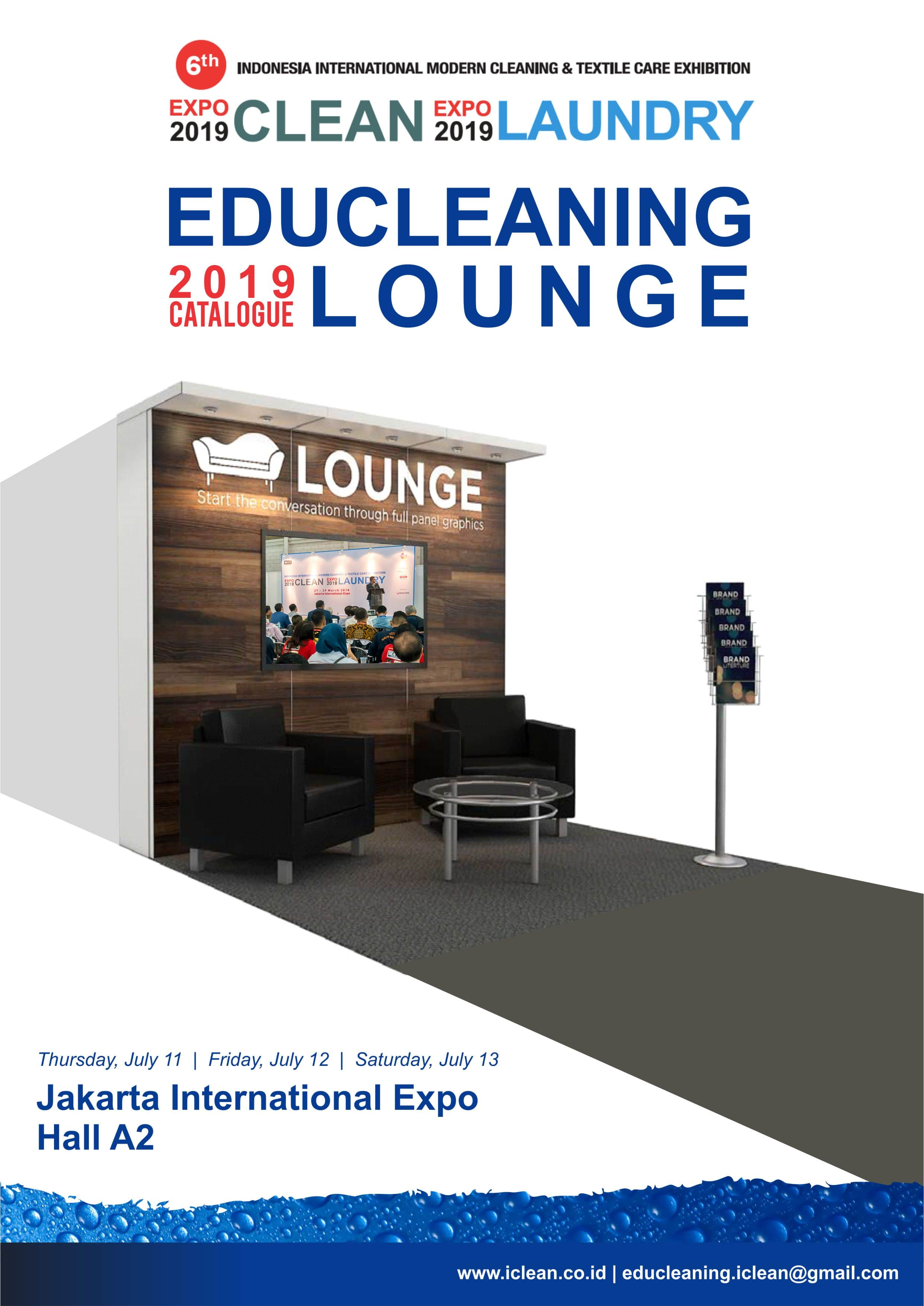 Educleaning Lounge 11-13 July 2019