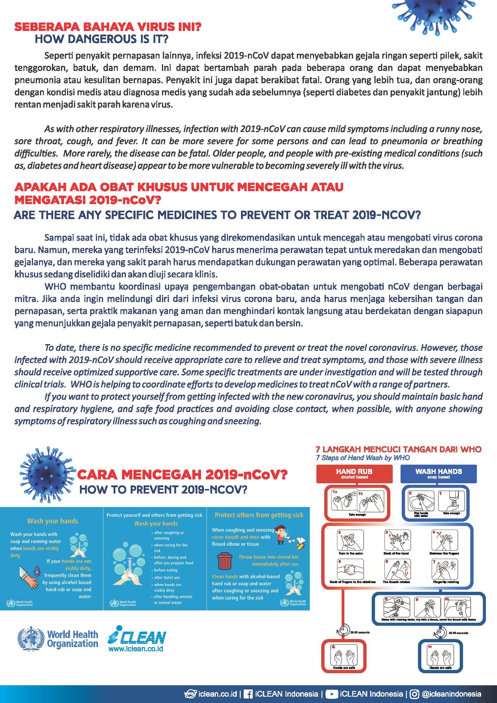 Covid 19 Rekomendasi Produk 270320 Page 2 Iclean