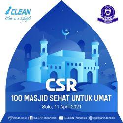 100 Masjid Bersih Bersama IHKA Solo Raya